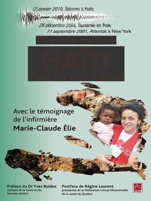 cover image of Haïti. Pour ne pas oublier
