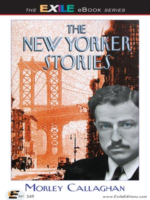 cover image of The New Yorker Stories
