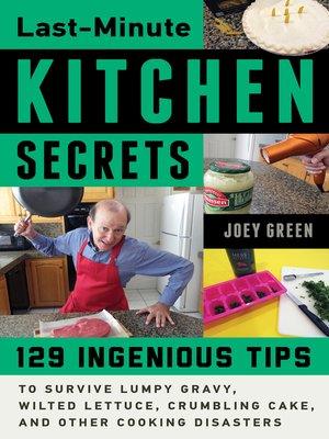 cover image of Last-Minute Kitchen Secrets