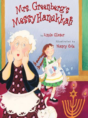 cover image of Mrs. Greenberg's Messy Hanukkah