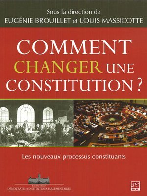 cover image of Comment changer une constitution?