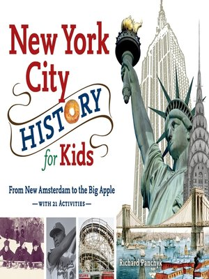 cover image of New York City History for Kids
