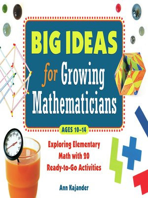 cover image of Big Ideas for Growing Mathematicians