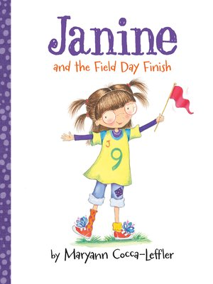 cover image of Janine and the Field Day Finish