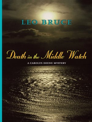cover image of Death in the Middle Watch