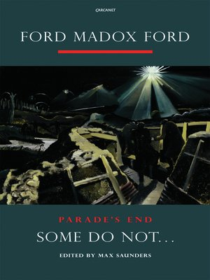cover image of Parade's End, Volume I