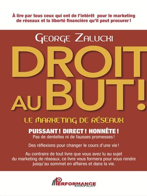 cover image of Droit au but!