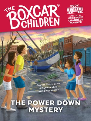 cover image of The Power Down Mystery