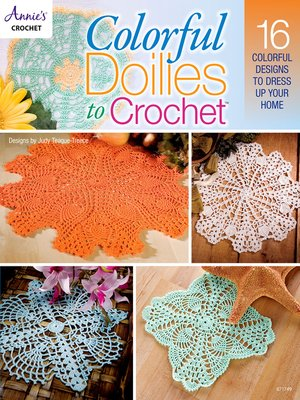 cover image of Colorful Doilies to Crochet