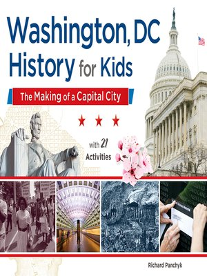 cover image of Washington, DC, History for Kids