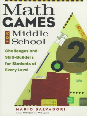 cover image of Math Games for Middle School