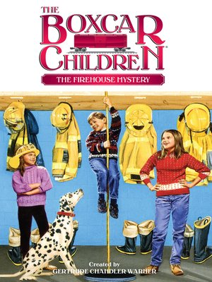 cover image of The Firehouse Mystery