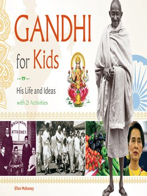 cover image of Gandhi for Kids