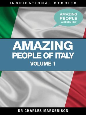 cover image of Amazing People of Italy