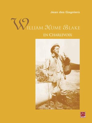 cover image of William Hume Blake en Charlevoix