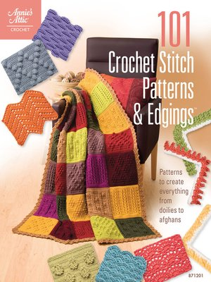cover image of 101 Crochet Stitch Patterns & Edgings
