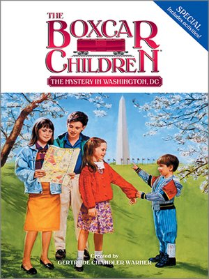 cover image of The Mystery in Washington D.C.