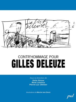 cover image of Contr'hommage pour Gilles Deleuze