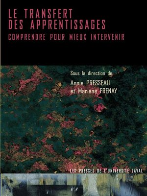 cover image of Transfert des apprentissages