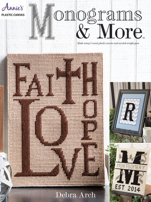 cover image of Monograms & More