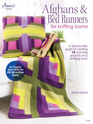 cover image of Afghans & Bed Runners for Knitting Looms