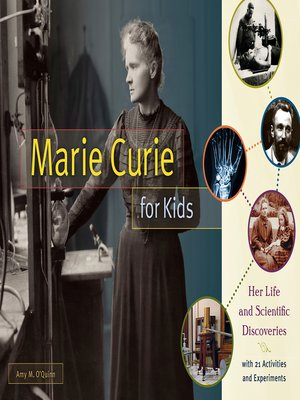 cover image of Marie Curie for Kids