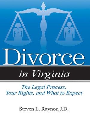 cover image of Divorce in Virginia