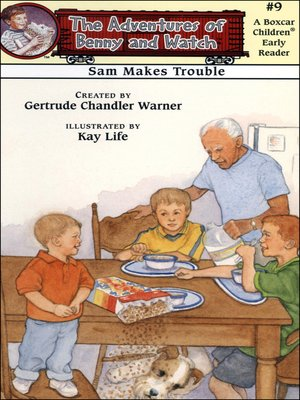 cover image of Sam Makes Trouble