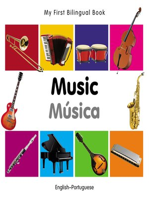 cover image of My First Bilingual Book–Music (English–Portuguese)