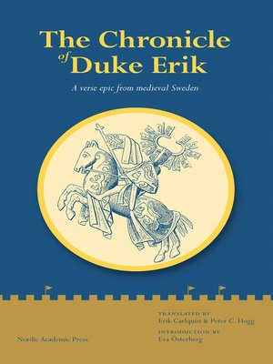 cover image of The Chronicle of Duke Erik