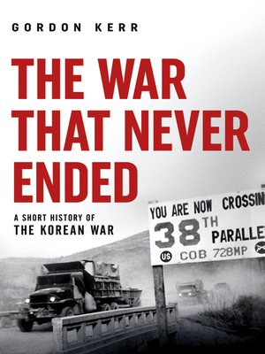cover image of The War That Never Ended