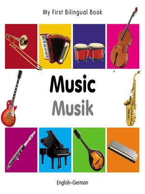 cover image of My First Bilingual Book–Music (English–German)