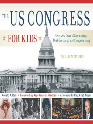 cover image of The US Congress for Kids
