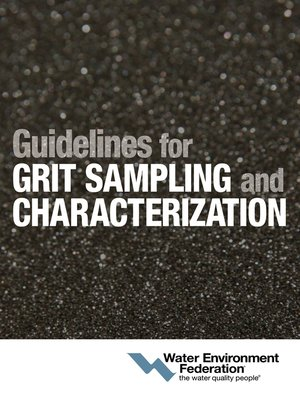 cover image of Guidelines for Grit Sampling and Characterization