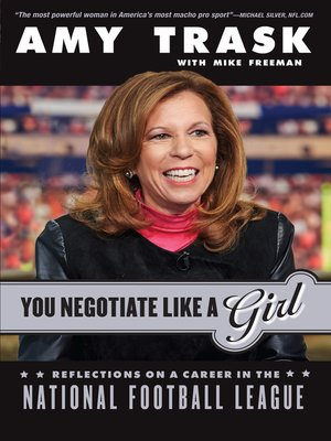 cover image of You Negotiate Like a Girl