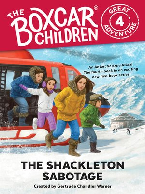 cover image of The Shackleton Sabotage