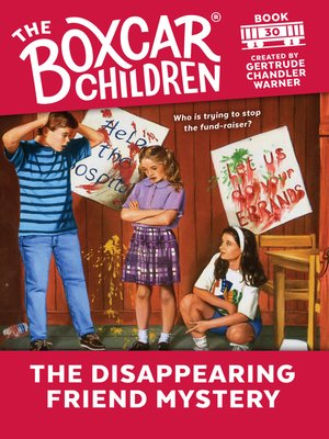 cover image of The Disappearing Friend Mystery