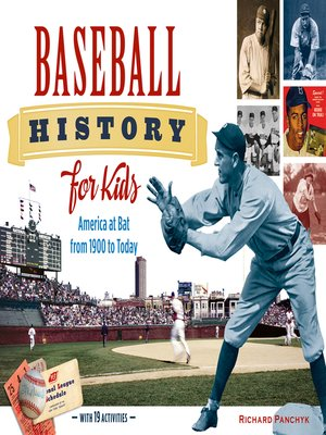 cover image of Baseball History for Kids