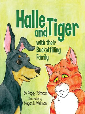 cover image of Halle and Tiger with their Bucketfilling Family