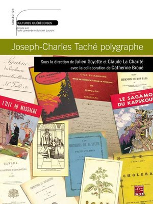 cover image of Joseph-Charles Taché polygraphe