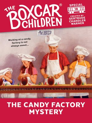 cover image of The Candy Factory Mystery