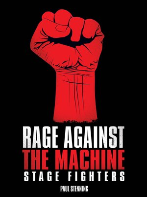 cover image of Rage Against the Machine--Stage Fighters