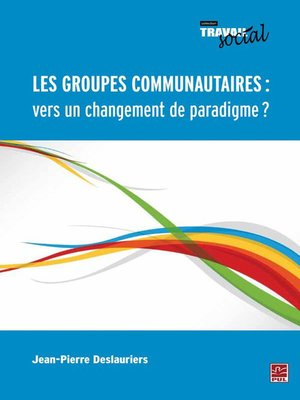 cover image of Les groupes communautaires