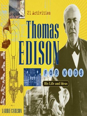 cover image of Thomas Edison for Kids