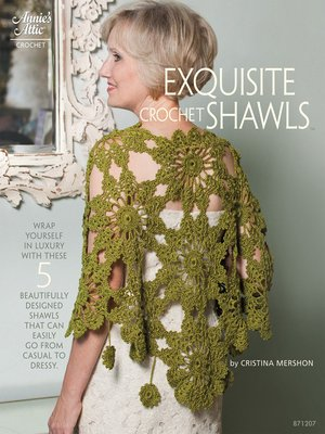 cover image of Exquisite Crochet Shawls