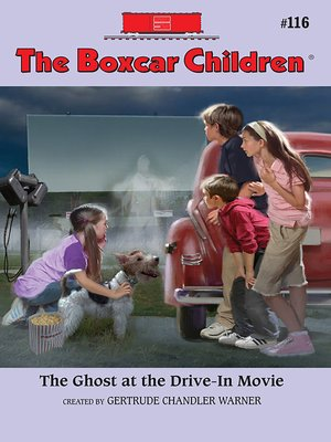 cover image of The Ghost at the Drive-In Movie