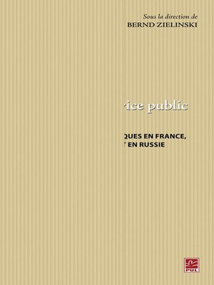 cover image of Penser le service public. Histoire et perspectives en France, en Allemagne et en Russie