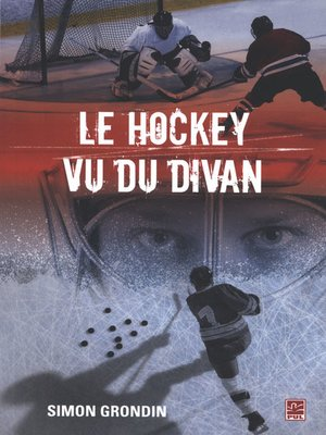 cover image of Le hockey vu du divan