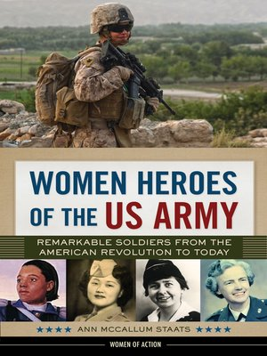 cover image of Women Heroes of the US Army