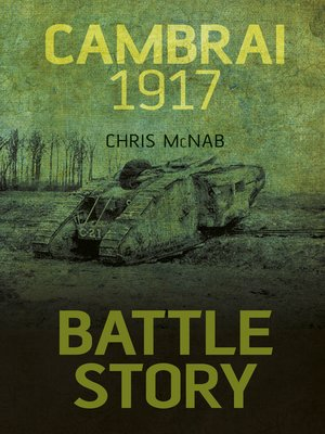 cover image of Battle Story Cambrai 1917